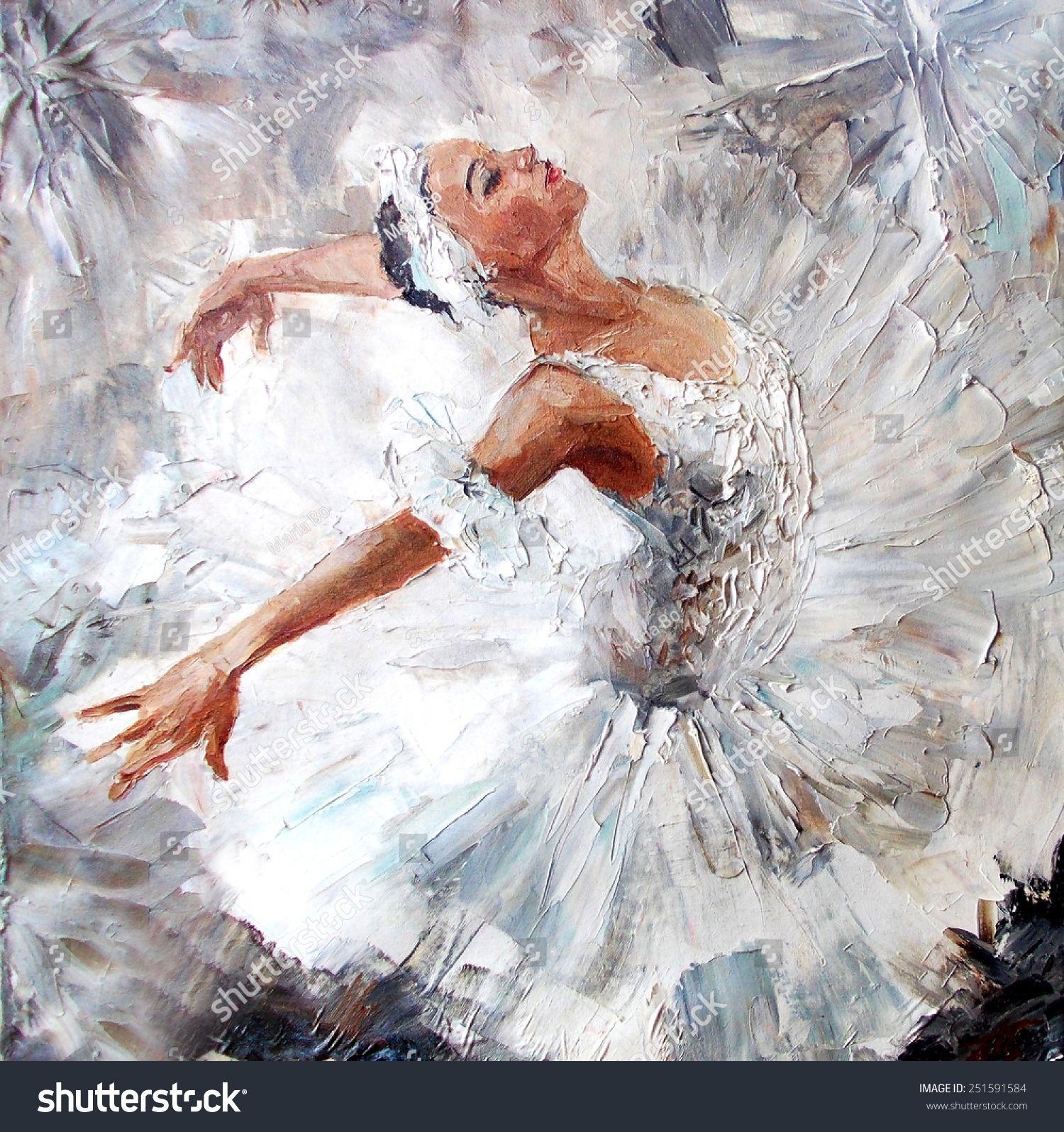 Margarita Vallejo Adli Kullanicinin Pintura Panosundaki Pin Bale Boyama Balerin Sanat Sanatsal Baski