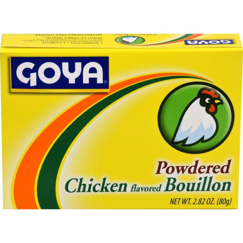 Goya Powdered Chicken Bouillon 2.82 oz Chicken flavors
