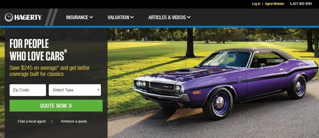Hagerty Insurance Login Make Payment Claim Contact