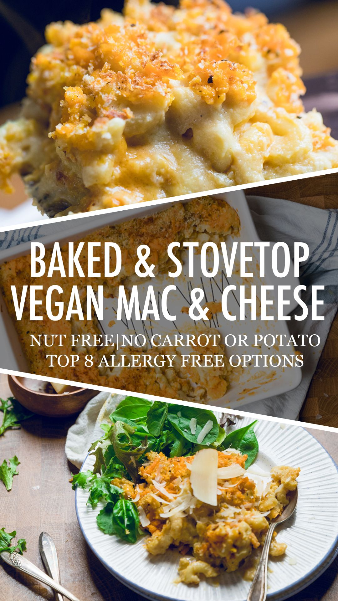 Vegan Mac And Cheese Baked And Stovetop Make It Dairy Free Vegan Mac And Cheese Tasty Vegetarian Recipes Mac And Cheese