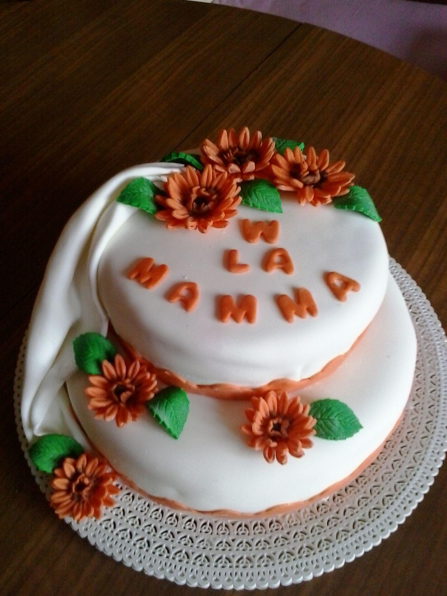 Torta Festa Della Mamma Festività Ed Eventi Pinterest Festa