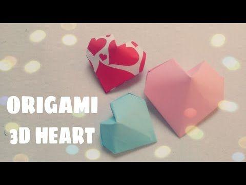 Coeur 3d Origami Origami Origami Coeur Origami Facile