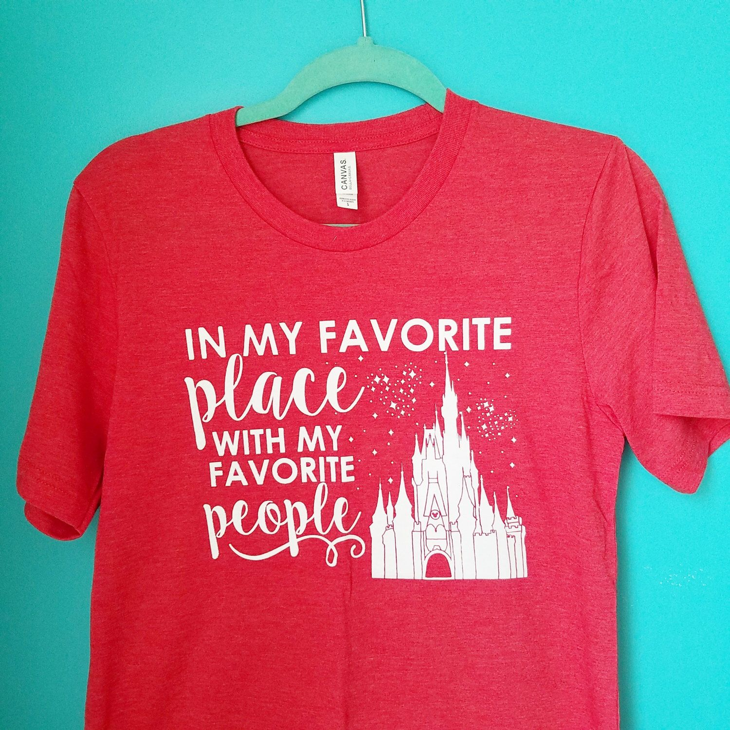 Favorite Place Favorite People Disney Family Shirts Disney