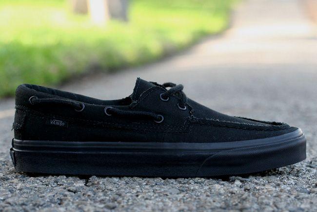 Vans Zapato Del Barco | Black / Black