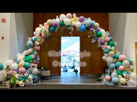 Diy floral balloon wedding arch makeful youtube arc a ballons diy floral balloon wedding arch makeful youtube junglespirit Image collections