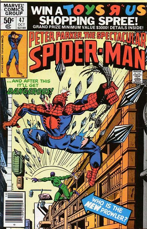 Peter Parker, The Spectacular Spider-Man # 47 by Al Milgrom