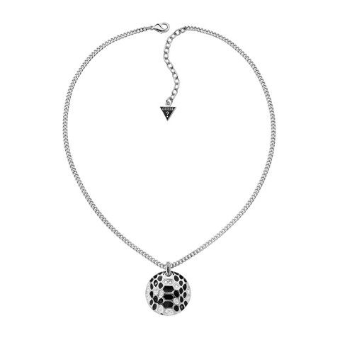 GUESS Crystal and Black Necklace - MyaBelle  9284475e49d