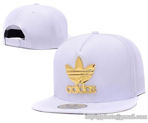 5a55cd29b67 Adidas Iron Standard Hip-Hop Snapback Caps Hats Hat White