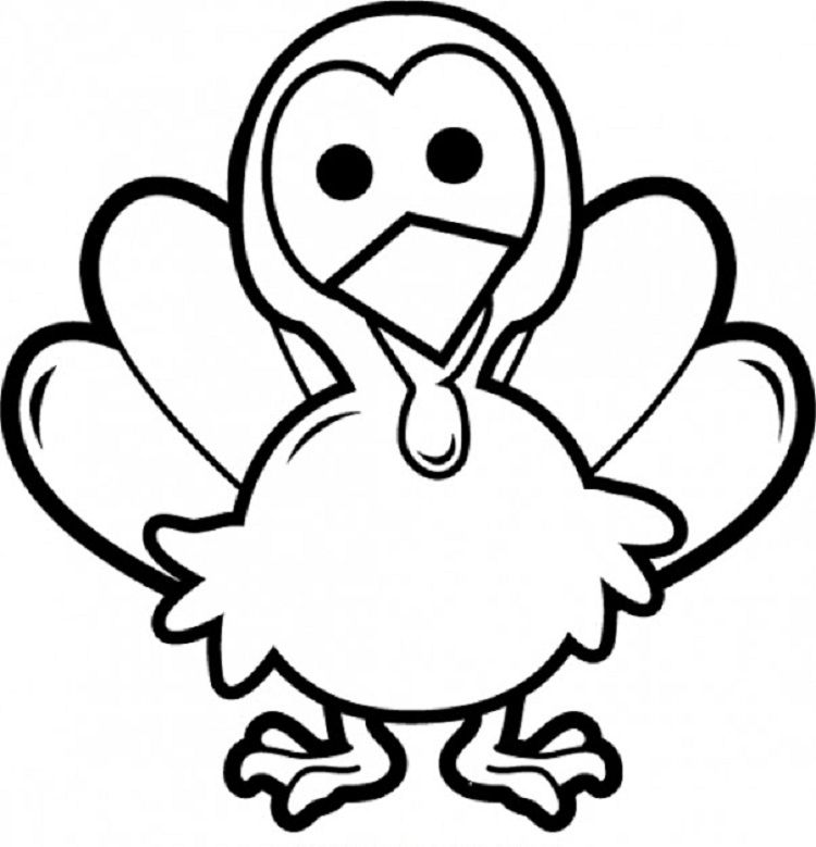 Baby Turkey Coloring Pages Turkey Coloring Pages Thanksgiving Clip Art Turkey Clip Art