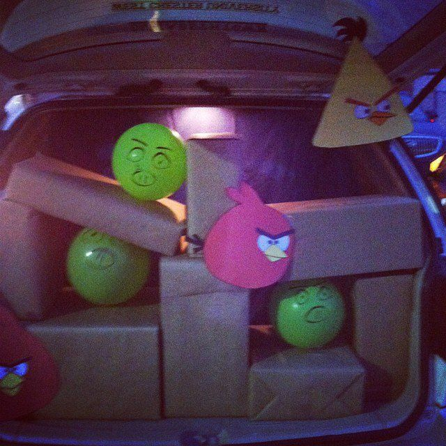 29 Thrilling Trunk-or-Treat Ideas Angry birds, Halloween stuff and - halloween trunk or treat ideas