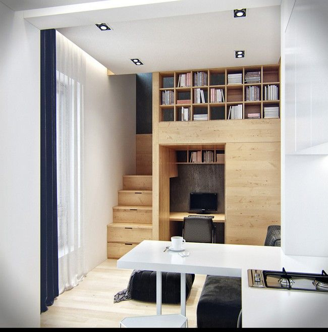 Apartment Solutions: Small Apartment With Snug Storage By Denis Svirid