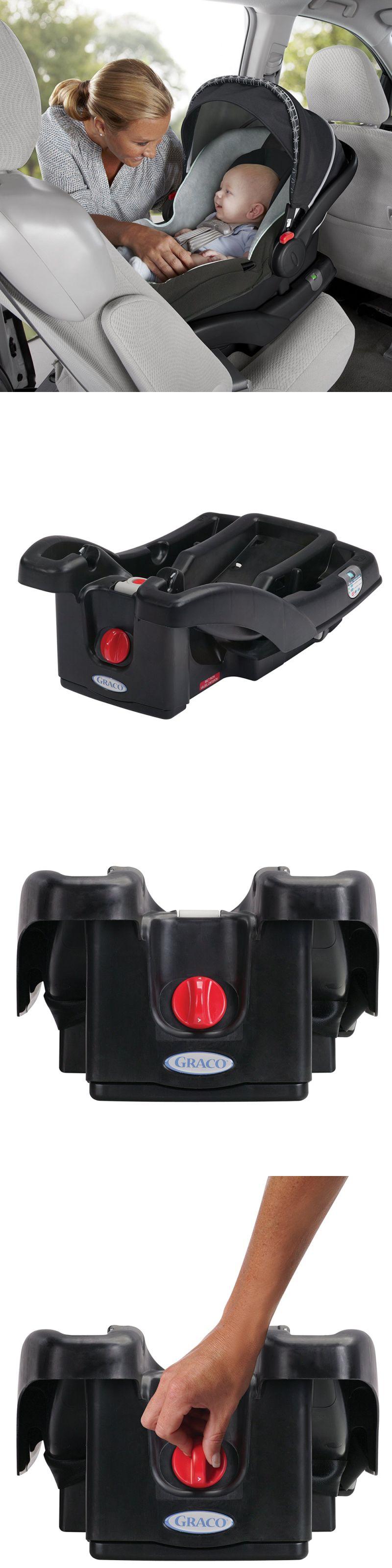 Infant Car Seat 5-20 lbs 66696: Black Graco Snugride Click Connect ...