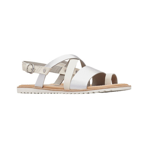 5e41b1ba304 Women s Sorel Ella Criss Cross Slingback Sandal - Sea Salt Sandals ...