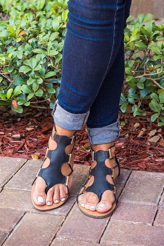 7ad5b2b8c27 Stretch Gladiator Sandals More