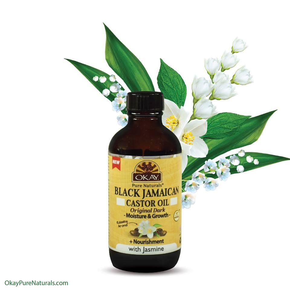 Black Jamaican Castor Oil Original Dark Jasmine