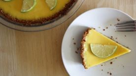 Key Lime Pie (with a Graham Cracker Coconut Crust)