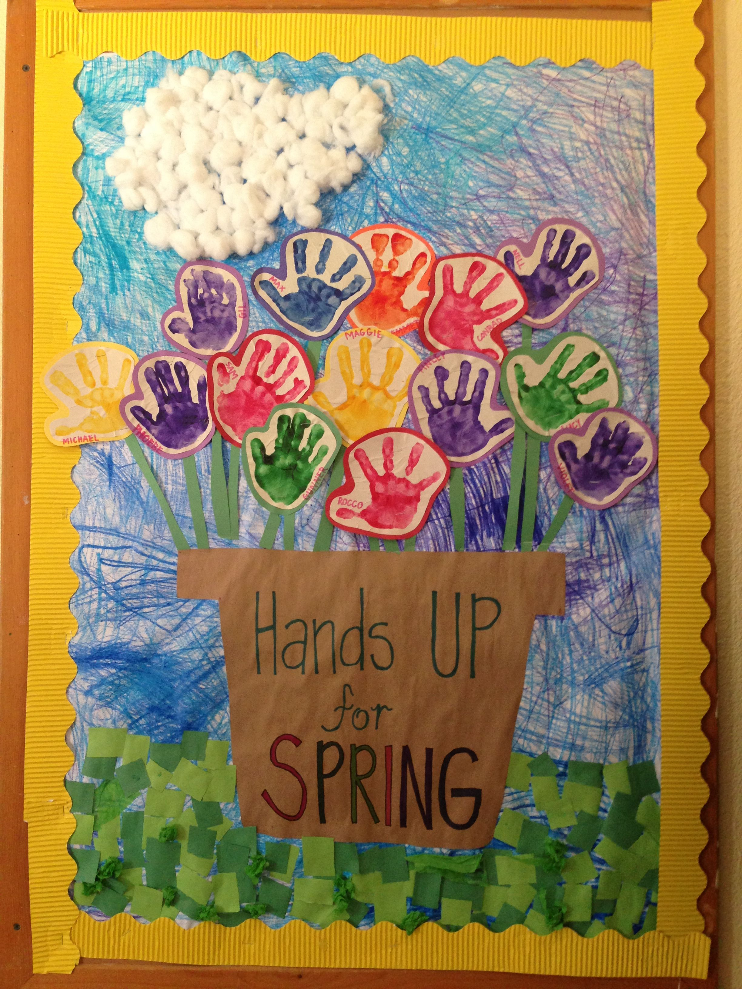 Spring Preschool Bulletin Board Bulletin School Bulletin Boards