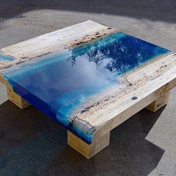 Blue Lagoon Coffee Table