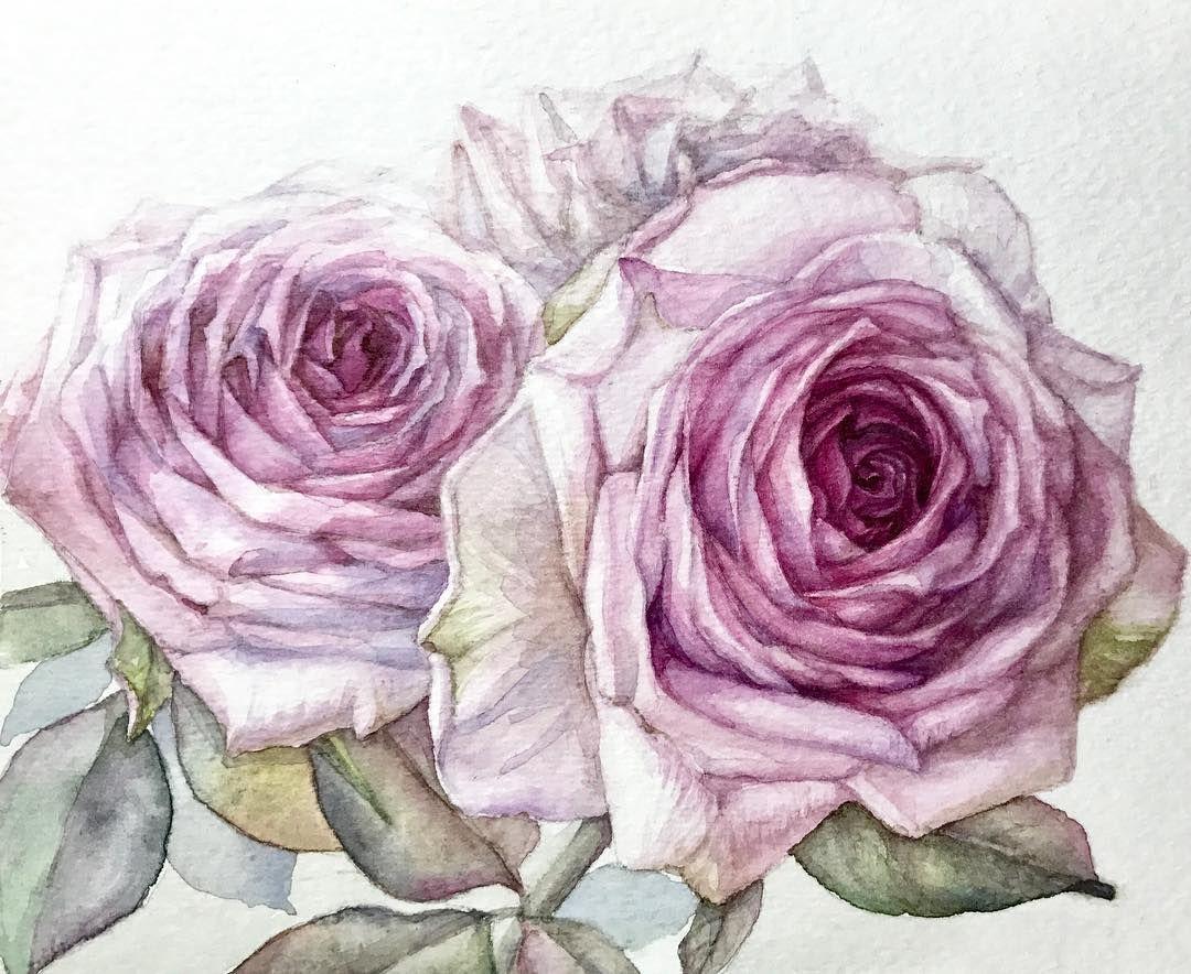 페인팅 일러스트 Handpainted Illustration 드로잉 꽃 꽃스타