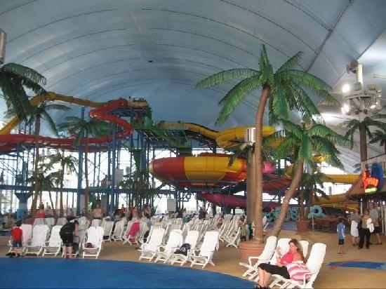 Fallsview Water Park Indoor Waterpark Water Park Niagara Falls