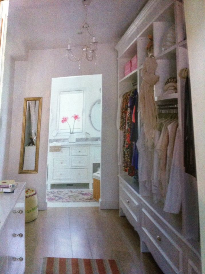 Closet walk in Vestidor revista living