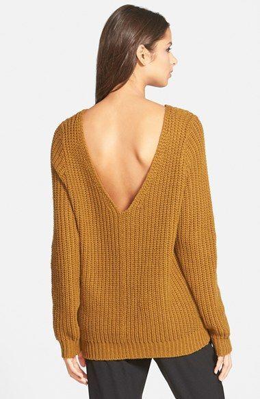 99f8b304d98 Leith Shaker Stitch V-Back Sweater