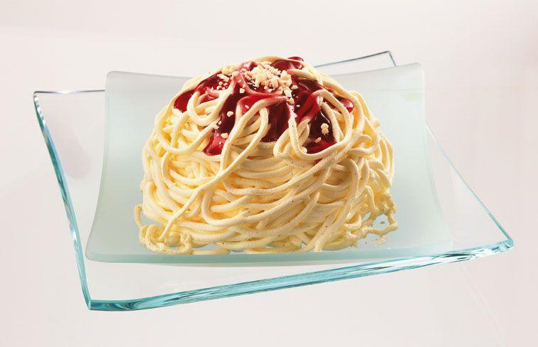 Spagettieis Spagetti Eis