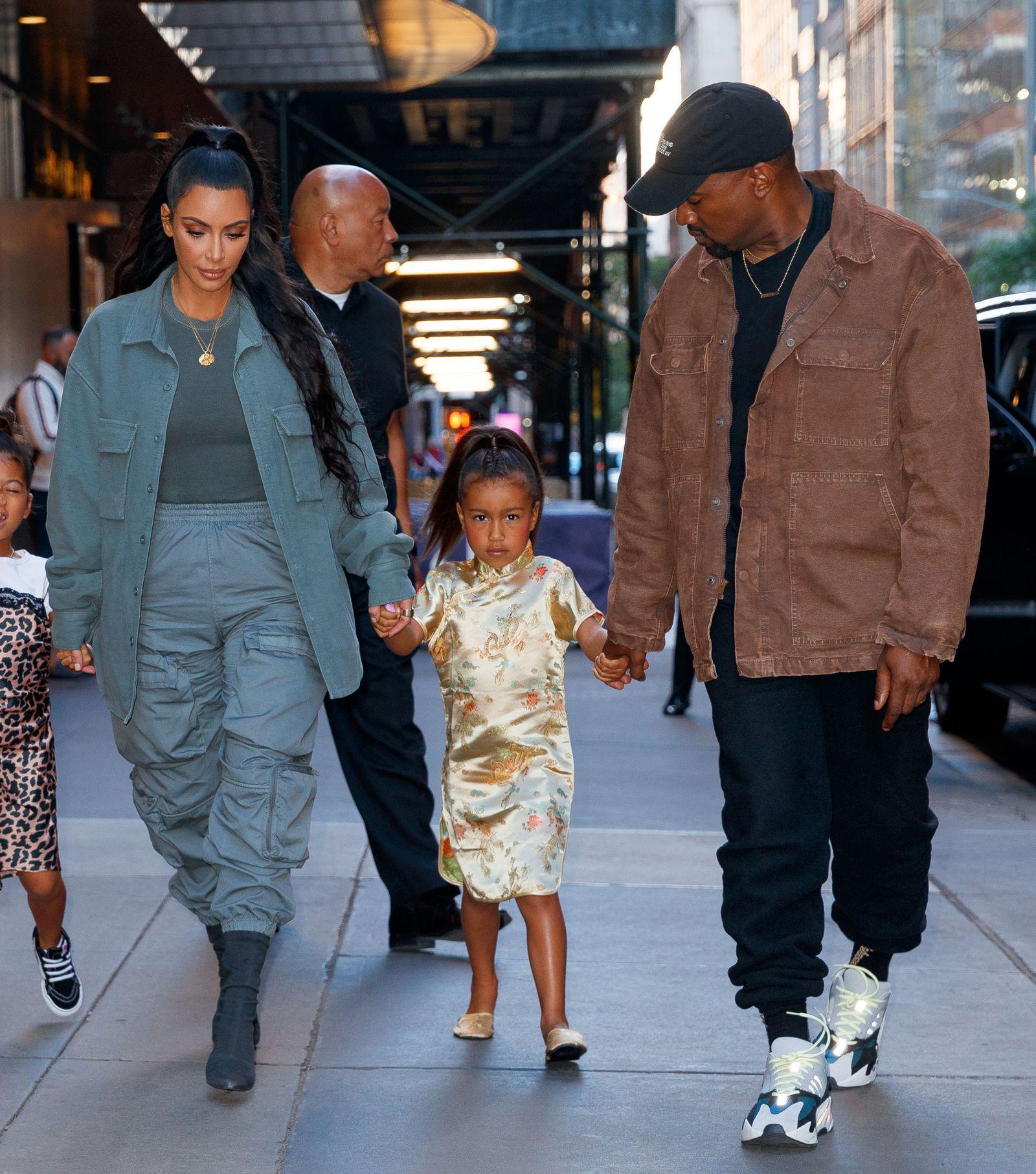 Kim Kardashian Told North West A Lie And It Inspired Kanye West S New Yeezys Kim Kardashian And North North West Kardashian Kanye West Style