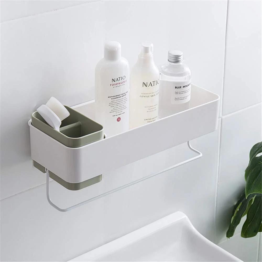 She S Home Bathroom Wall Organizer Shower Storage Shower Shelves Bathroom Wall Shelves [ 1000 x 1000 Pixel ]