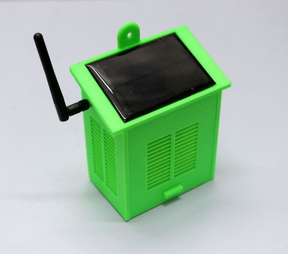 Station Meteo Wifi A Energie Solaire V2 0 Projet Share Pcbway Solar Power Energy Solar Power Panels Solar Power