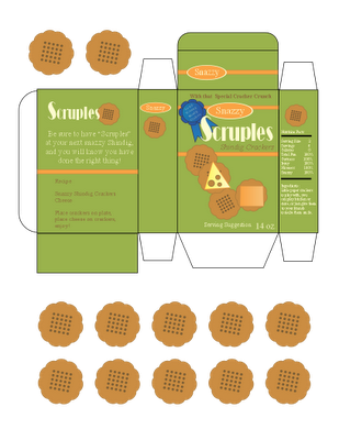 Toy Box Of Crackers Diy Stationery Set Box Template Printable Diy Stationery