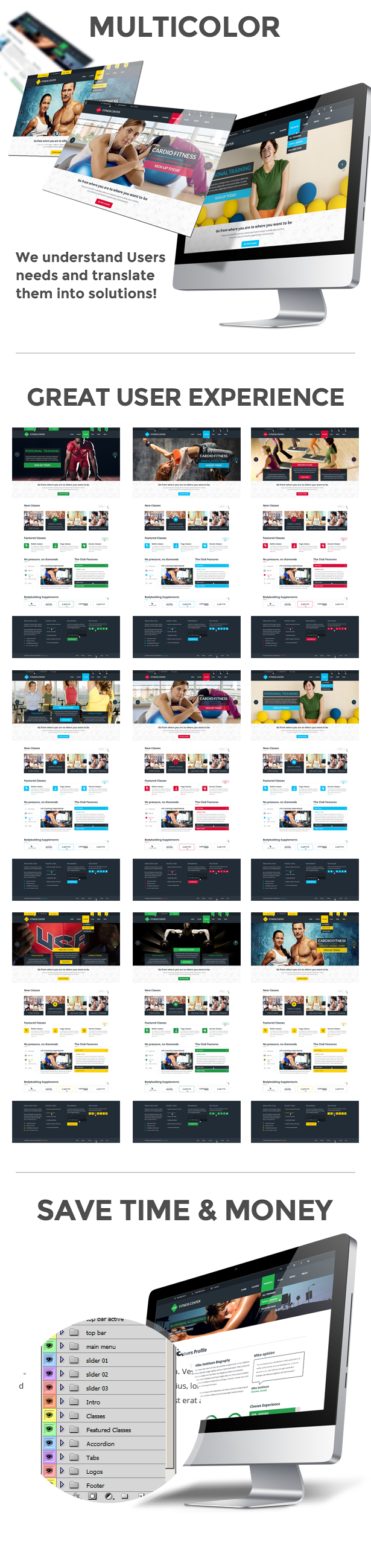 GYM Sport Fitness Bootstrap Responsive Theme #AD #Fitness, #Sport, #GYM, #Theme