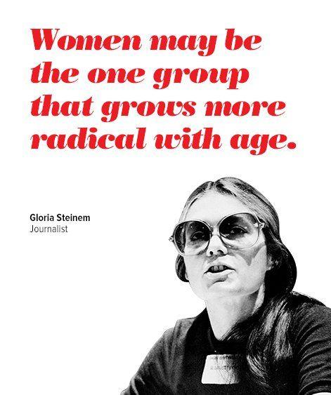 Gloria Steinem Feminist Quotes QuotesGram by @quotesgram Women - best of barefoot investor blueprint promo code