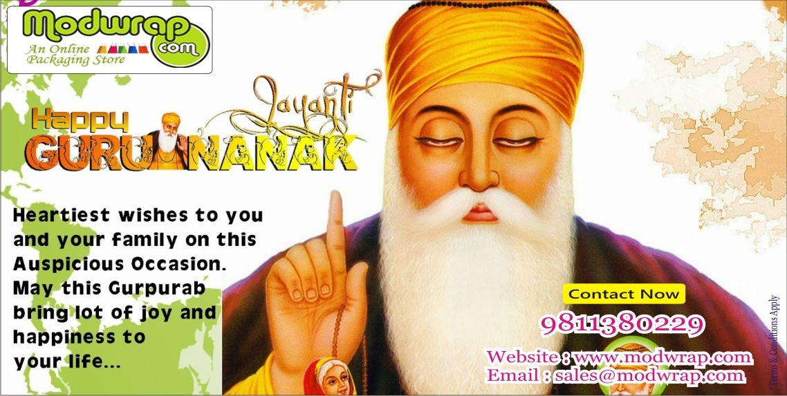 Wish you and your family A Happy #Gurupurab