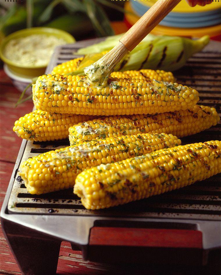 Corn on the grill always tastes better.