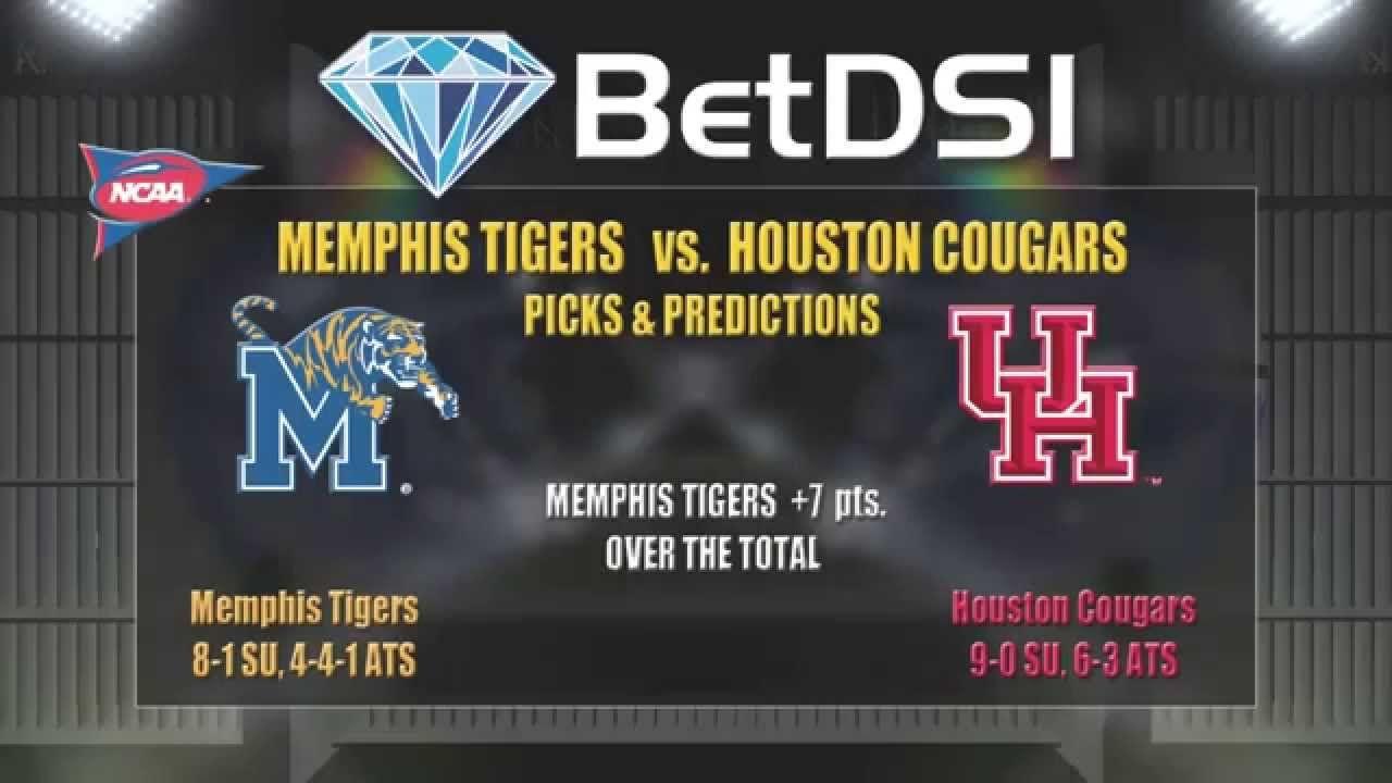 Memphis Tigers Vs Houston Cougars Odds Ncaa Football Free Picks