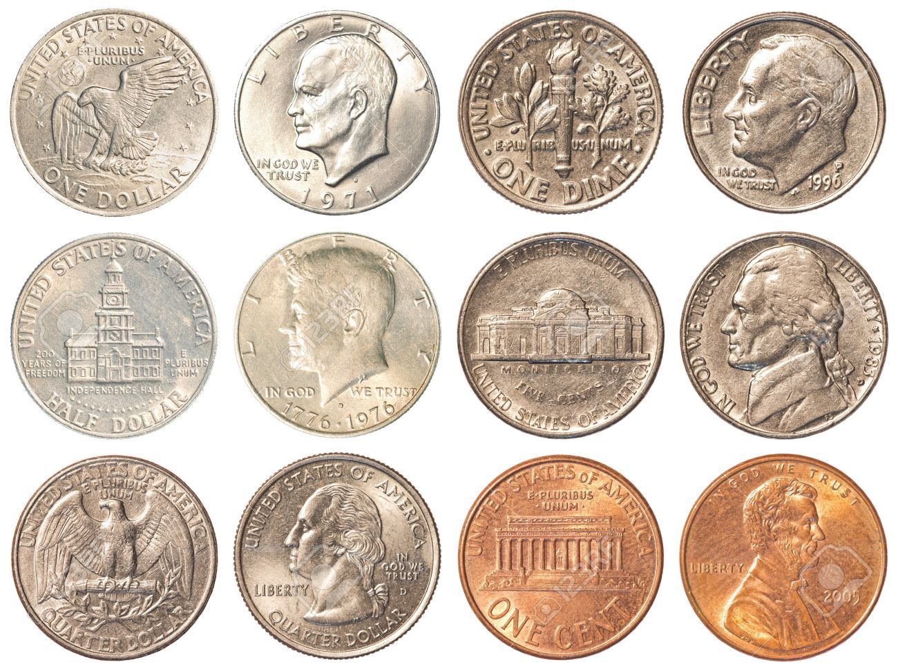 Design Types Of United States Coins And Coin Collecting