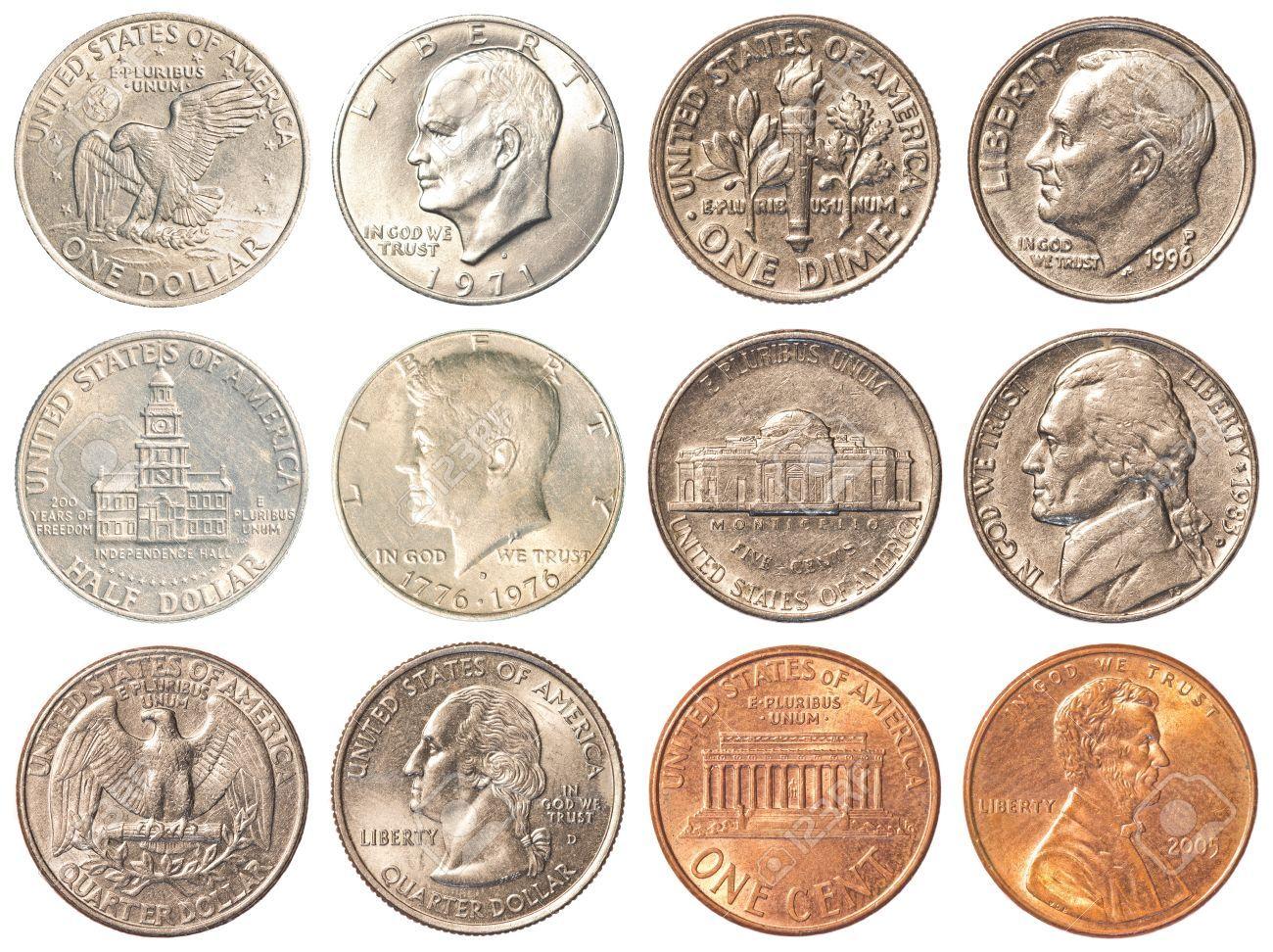 Us Dollar Münzen übersicht