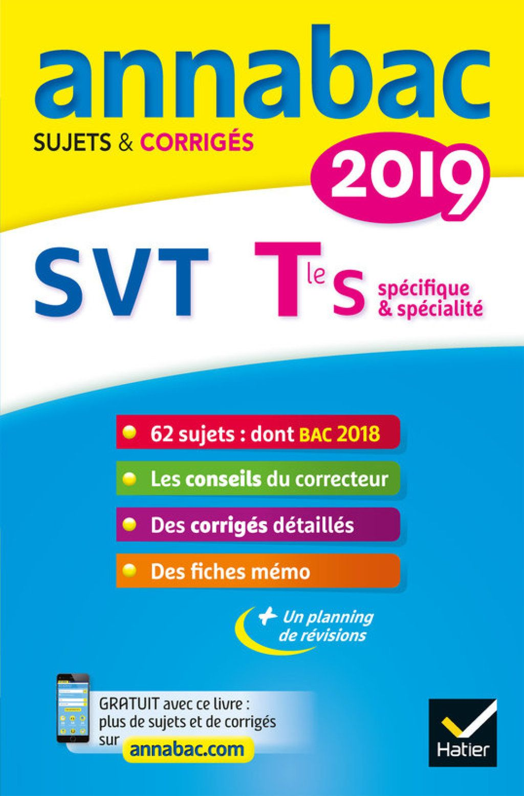 Annales Annabac 2019 Svt Tle S Ebook Book Review Blogs Math Good Books