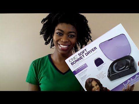 Laila Ali Ionic Soft Bonnet Hair Dryer