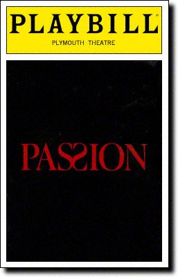 Stephen Sondheim's Passion, a story of complicated love affairs, played 280 performances, making it the shortest-running winner of the Best Musical Tony.