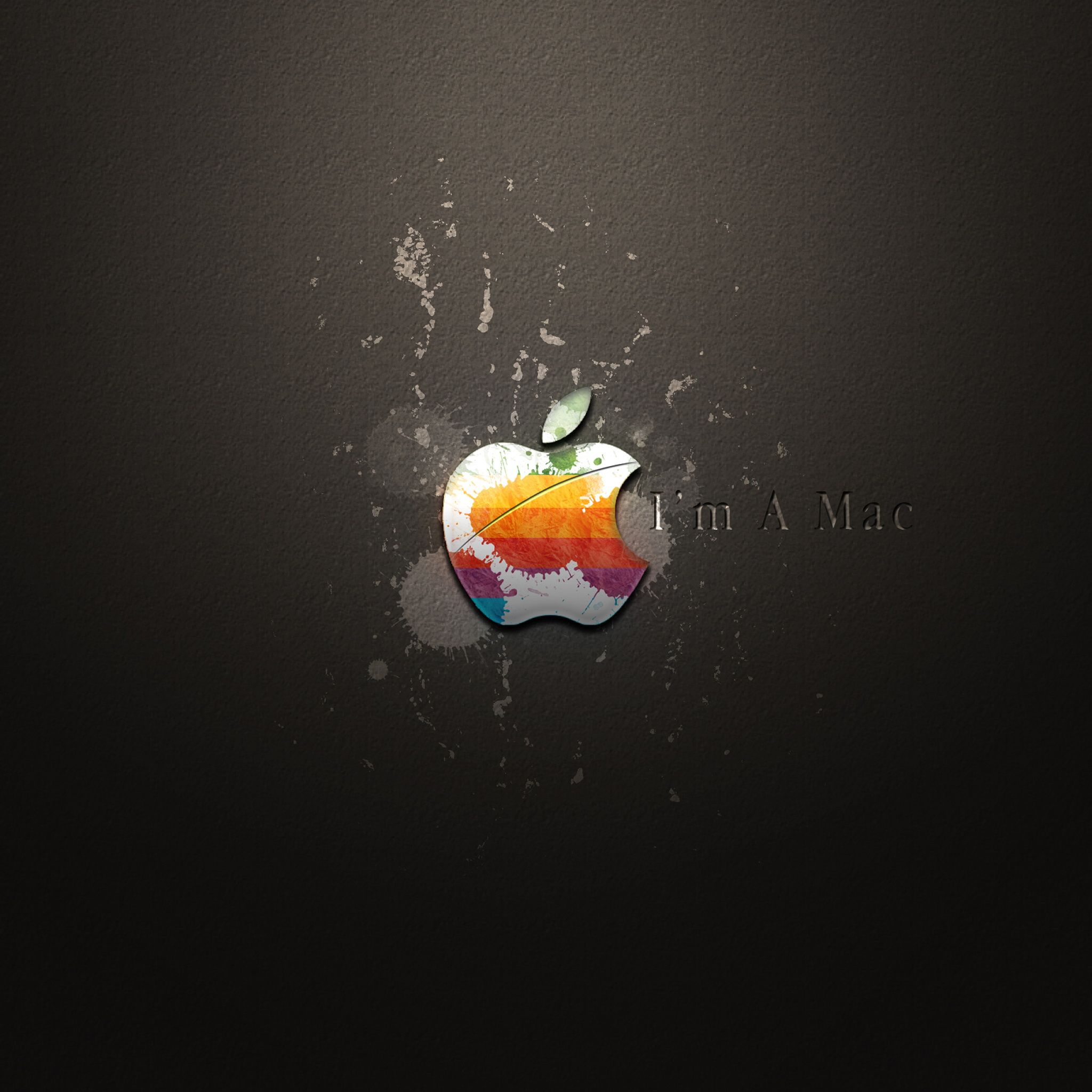 spoof apple mac logo ipad air tablet #wallpaper ~ #apple #ipadair
