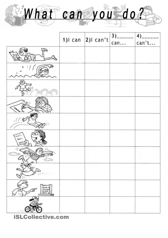 What Can You Do Learning English For Kids English Language Teaching Teaching English [ 1440 x 1018 Pixel ]