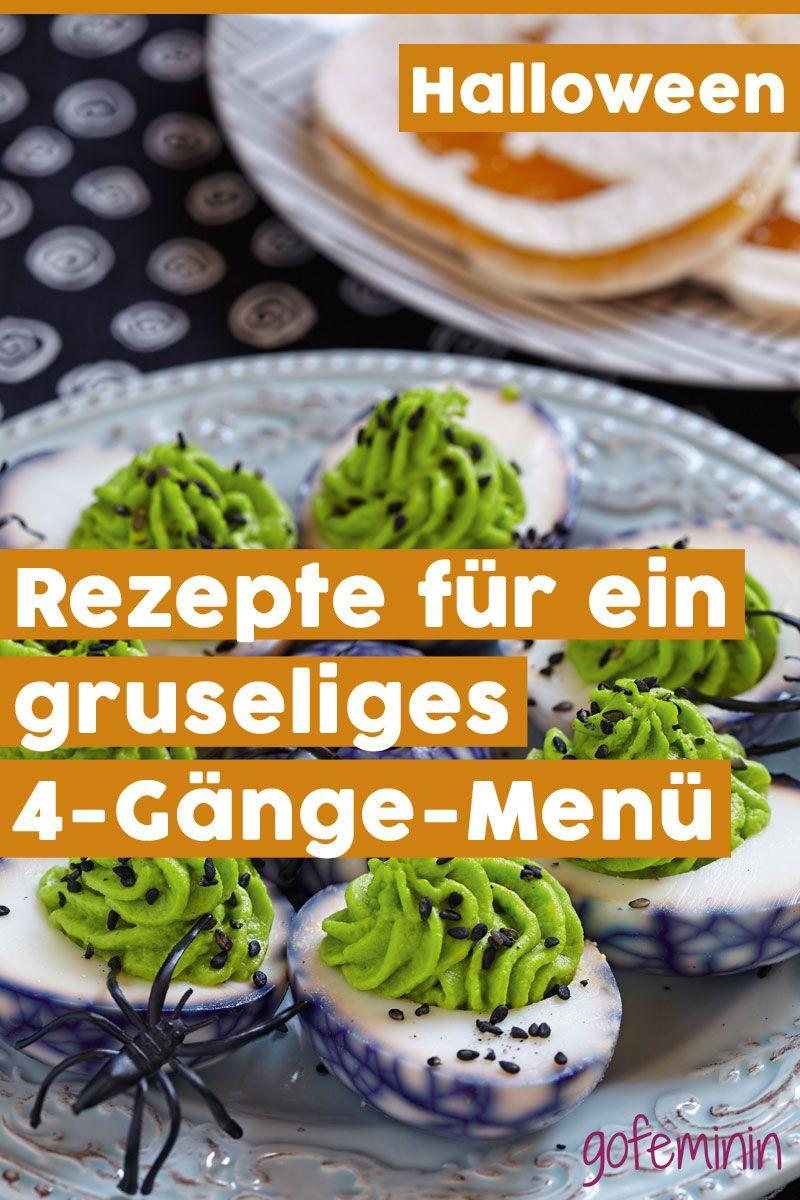 Halloween Dinner: Rezepte für ein gruseliges 4-Gänge-Menü #dinnerideas2019