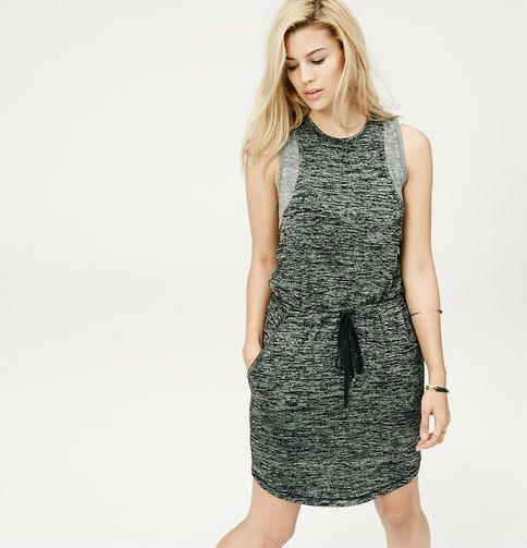 Lou & Grey Slinky Spacedye Dress   Loft