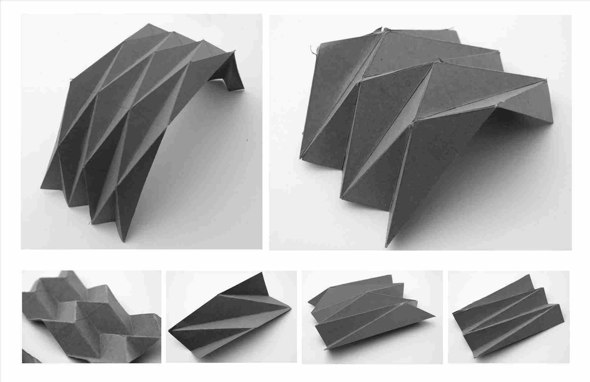 Folded Plate Roof Plan Us Structure For Relocatable