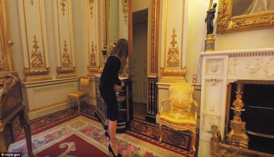Google offers virtual tours of Buckingham Palace