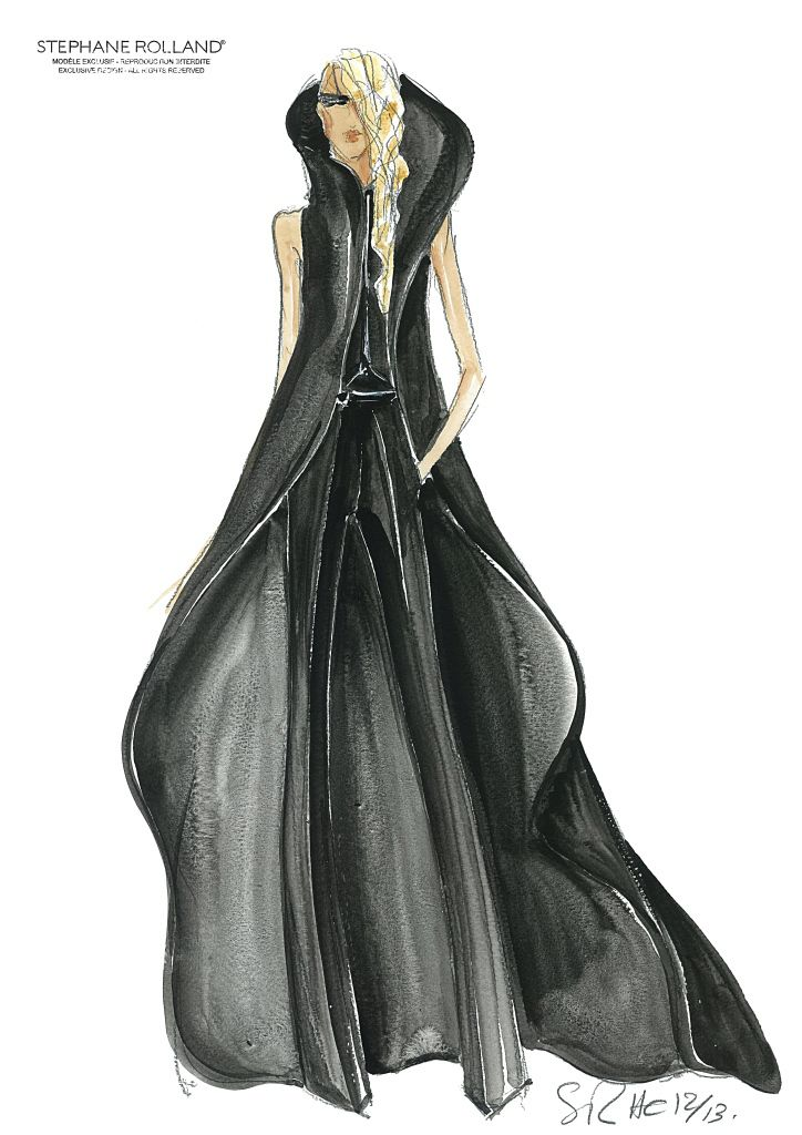 Stephane rolland haute couture f a s h i o n i l l for O couture fashion