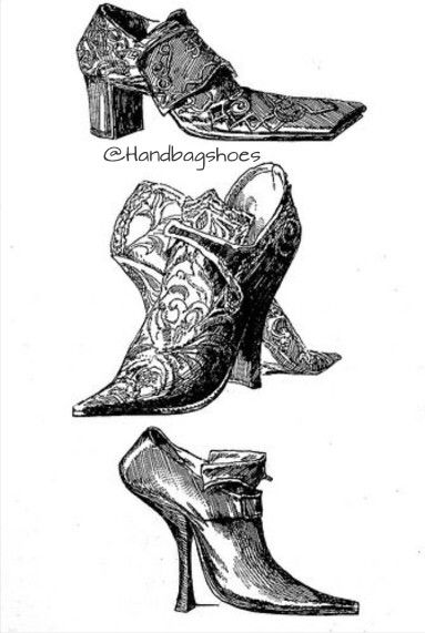 Intricate Detailed Shoes Vintage Shoes Vintage Style Shoes Century Shoes