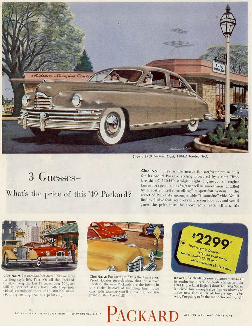 1949 Packard Brochure